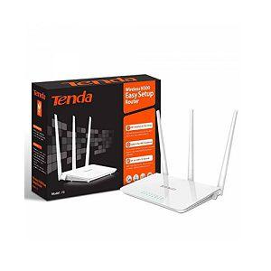 Tenda F3 Wireless Easy Setup Router 300 Mbps 3 Fixed Anteena