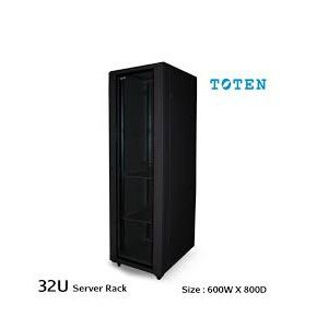 Toten 32U Equipment Server Rack Cabinet