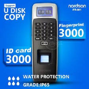 Nordson FR W2000 Waterproof Biometrics Access Control Device