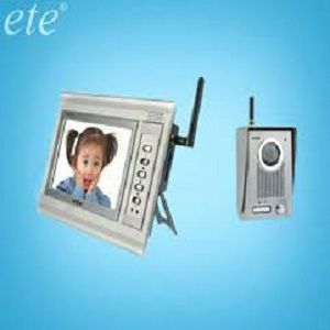 ETE T 709CW 7 Inch LCD 150m Transfer Wireless Video Doorphone