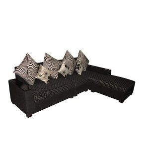 Stylish Sofa Set L Shaped Solid Foam Best Quality Furniture