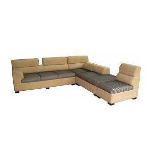 Sofa Set L Shaped Six Seater Beautiful Wood Furniture