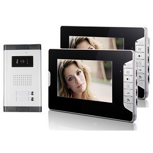 Villa Video Door Phone System 7 Inch Color Display