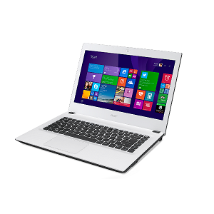 Acer Aspire E5 473 Core i3 4th Gen. 4005U White