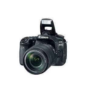 Canon EOS 80D 24.2MP CMOS DIGIC 6 Full HD 3 Inch Camera