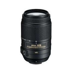 Nikon AFS DX 55 300mm ED VR Telephoto SLR Camera Lens