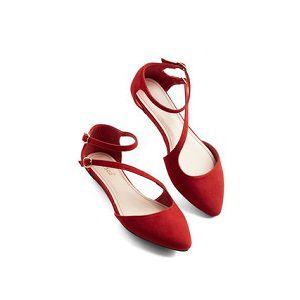Ladies Party Flat Shoes