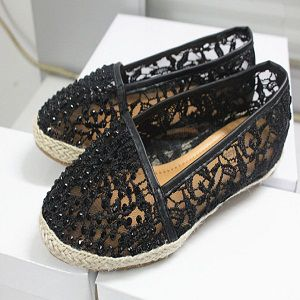 Ladies Flat Net Shoes