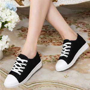 Ladies Running Flat Sneakers