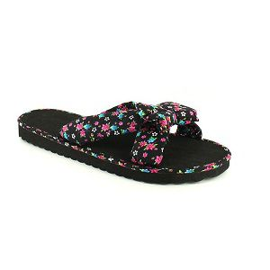 Ladies Multi Print Flip Flops shoes