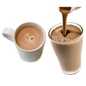Milk Chocolate Hot Coffee
