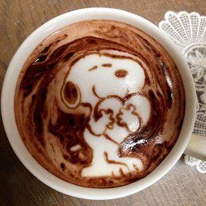 Latte Chocolate Hot Coffee