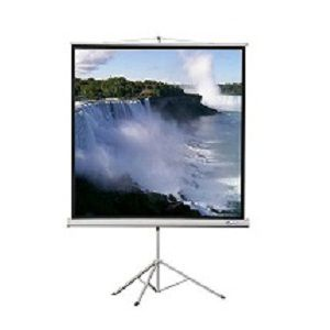 EZ (96|96 Inch) Tripod or Wall Type Projection Screen