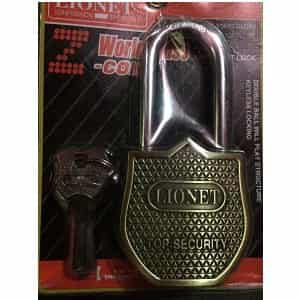 Gold Plated Iron Padlock for sell