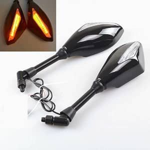 Special Looking Glass with Indicator Light for Bike