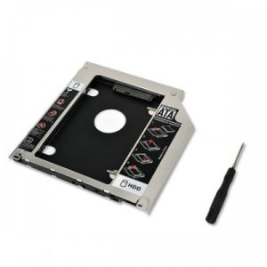 Second Hard Disk Drive CADDY Secondary CD ROM Storage for Laptop