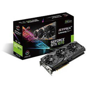 ASUS ROG STRIX GTX1070 O8G GAMING Graphics Card