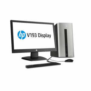 HP Pavilion 550 042L i5 PC with Graphics LAN Card 3 Years Warranty