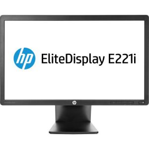 HP EliteDisplay E221i 21.5 inch IPS LED Backlit Monitor Warranty 3 Years