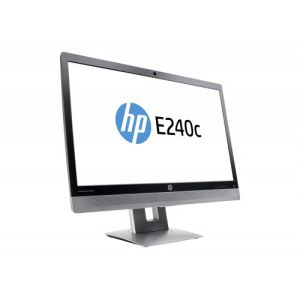 HP EliteDisplay E240c Full HD 24 Inch Video Conferencing Monitor