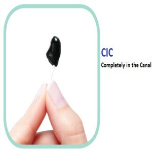 NuEar Intro 3 CIC 8 Channel Digital Hearing Aid