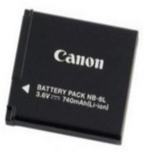 Canon NB 8L Rechargeable Lithium Ion Digital Camera Battery