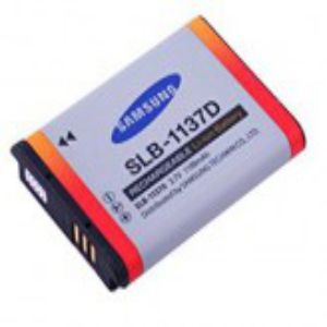 Samsung SLB 1137d Lithium Ion Rechargeable Camera Battery