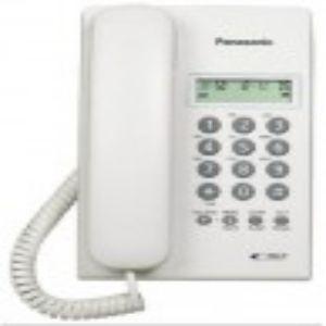 Panasonic Corded Telephone Set KX TS60 Caller ID 2 Line LCD