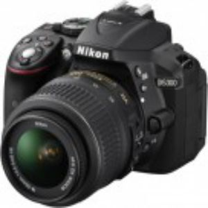 Nikon Camera Digital SLR D5300 24MP Full HD WiFi and GPS
