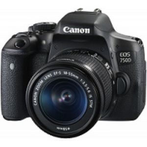 Canon EOS 750D DSLR 24.2 MP Built in Wi Fi With 18 55mm Lens