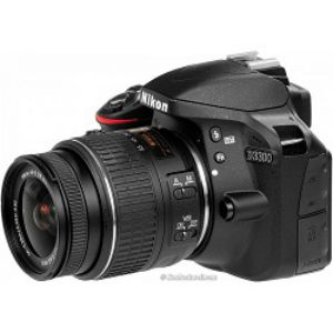 Nikon D3300 DSLR 24.2 MP FHD Video With 18 55mm Lens