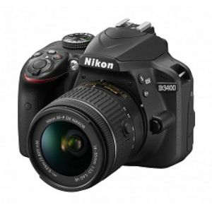 Nikon D3400 DSLR 24.2 MP FHD Video With 18 55mm Lens