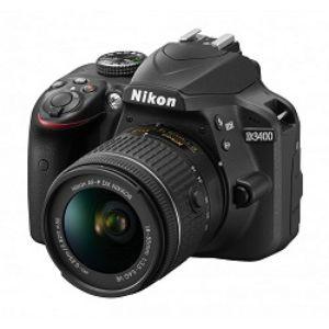 Nikon D3400 DSLR 24.2 MP FHD Video With 18 55mm Lens