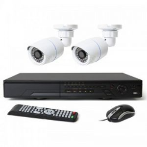 Full HD 04 Channel DVR With 02 Units Full HD 720p Camera