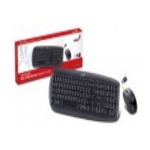 Genius SlimStar 8000x Wireless Slim Keyboard and Mouse Combo