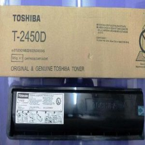Toshiba T 2450D Genuine Black Color Photocopier Toner Cartridge