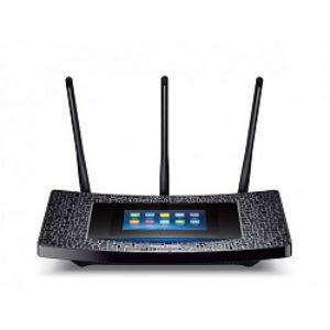TP LINK AC1900 Wi Fi Gigabit Router TOUCH SCREEN