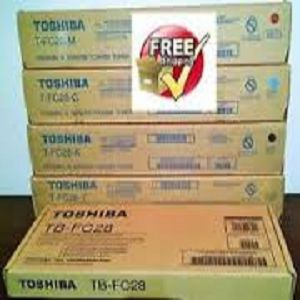 Toshiba Genuine Color Toner TFC30P Y|M|C|K Cartridge Set