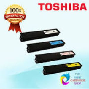 Toshiba Genuine Copier Four Toner Set Color T FC25D Y|M|C|K
