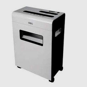 Deli 9911 Paper Shredder Cross Cut Machine 8 Sheets 230MM