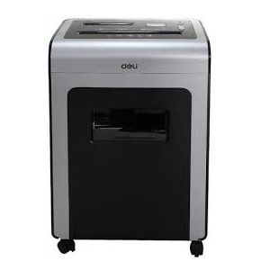 Deli 9915 10 Sheet Capacity 2m|min Cross Cut Paper Shredde