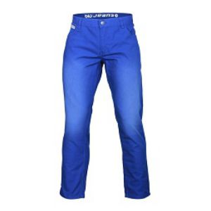 NAVY BLENDED CASUAL PANTS