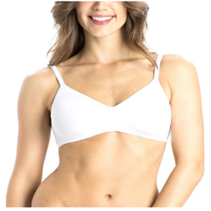 Shotorong Cotton Jockey Seamless Bra : White