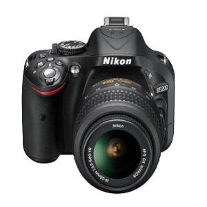 Nikon D5200 DSLR Camera With 18 55mm