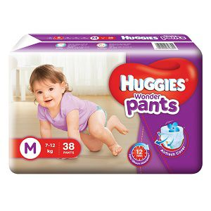 7 to 12 Kg Huggies Pant Diaper 57 pcs