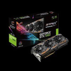 ASUS STRIX GTX1060 6G GAMING GRAPHICS CARD