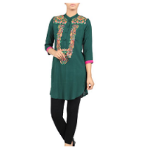 Embroidered Ethnic Frock FIR