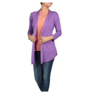 Womens Bolero Top ORCHID