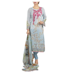 Chinese Print BLUE | Salwar kameez