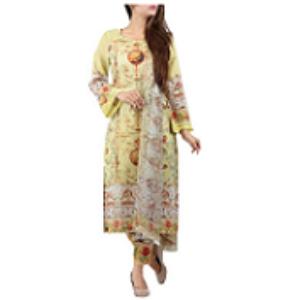 Ancient Rococo YELLOW | Salwar kameez